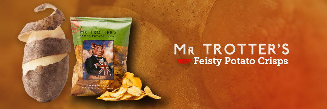 Feisty Potato Crisps